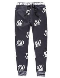 Wholesale 2015 Newest Fashion Emoji Jogger Men Pants Sport Black Jogging Cartoon Pants Mens Harem Sweatpants Trousers jordan joggers