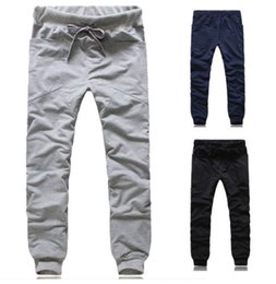 Wholesale New Mens Casual Harem Baggy HIPHOP Dance Jogger Sport Sweat Pants Trousers