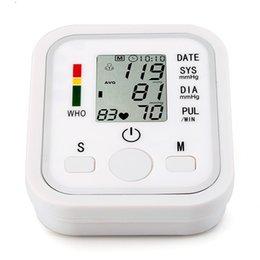 Wholesale Digital Blood Pressure Monitor kpa kpa Memory Style Arm Blood Pressure Pulse Monitors Sphygmomanometer for Family order lt no track