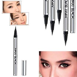 Wholesale Hot Sales Fashion Beauty Makeup Waterproof Extreme Black Eyeliner Liquid Pen Easy to Wear Long lasting T248