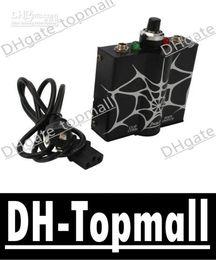 Wholesale Professional Tattoo Power Supply Spider Pattern Black David
