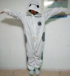 Wholesale 2015 UNISEX big hero rompers pajamas baymax adults Cosplay Costumes nightgown Sleepwear nightwear Jumpsuit sleeper Onesies TOPB3106