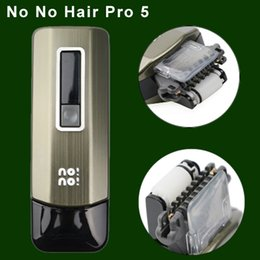 Wholesale Amazing No No Hair Pro5 Levels Smart Male and Female Hair Epilator Professional Hair Removal Device for Face and Body Upper Lip Uptoyou
