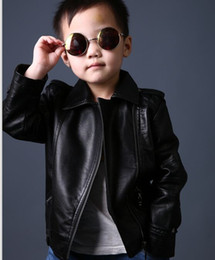 Discount Kids Black Leather Jackets | 2017 Kids Leather Jackets ...