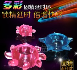 Wholesale ST A104CE NEW Stretchy Time Delay Penis Cock Ring penis sleeve Sexy Toy for Men Adult Sex Products