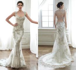 Bling Mermaid Wedding Gowns