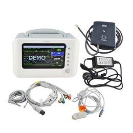 V AC CE утвержденный 6-дюймовый 6-параметров Монитор пациента 110-240