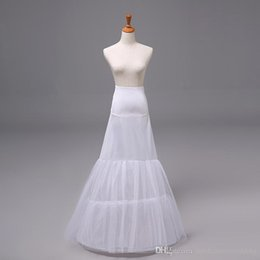 Wholesale 2015 faldas nupciales nupciales de nylon de Tulle de la falda de la crinolina de la enagua de la enagua de la trompeta de la sirena del vestido de boda de las nuevas llegadas