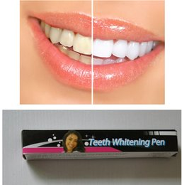 Wholesale NEW TEETH WHITENING PEN TOOTH GEL PEN WHITENER CLEANING BLEACHING DENTAL WHITE