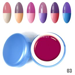 Wholesale 2015 new hot Newest Popular Fashion Colors Temperature Change Gel Polish Choose Any Color UV Gel Nails