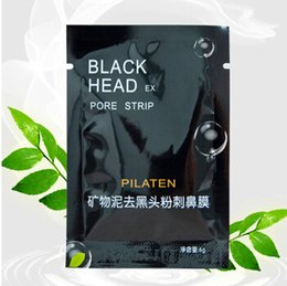Wholesale 2015 PILATEN Facial Minerals Conk Nose Blackhead Remover Mask Pore Cleanser Nose Black Head EX Pore Strip DHL FreeShipping
