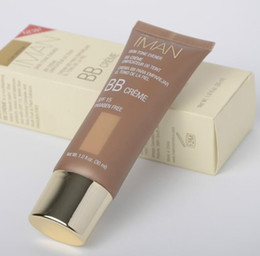 Wholesale Brand New maquiagem IMAN BB Cream SPF15 Womens facial corrector maquillage base concealer dermacol Makeup Foundation ml Hot