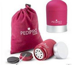 Wholesale 2015 Newest Pedi Pro PediPro Deluxe Pedicure Pedi Foot File Hard Skin Remover Kit Set DHL