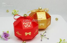 Wholesale New Arrival Candy Box Wedding Favor Favor Holders Candy Bag Cheap Candy Boxes Material Paper Candy Wedding Boxes Accessory