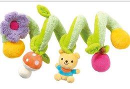 Wholesale Children Baby Kawaii Bear Mushroom Flower Twine Kids Babies Bedding Accessories Nursery Bedding Child Floral Bears Intertwine D3042