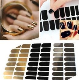 Wholesale New Arrivals in a pack as a set Nail Art Stickers Decals Wraps Manicure Decorations Metal Foils Beauty TX269