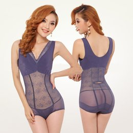 Wholesale Women s Shapers Sexy Thin Cotton Shapers Bodysuits Invisible Magic Shapers Slimming Body Shaper