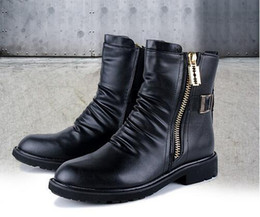 Discount High Heeled Boots For Men | 2017 High Heeled Boots For ...