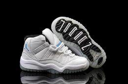 Wholesale Nike Air Jordan Shoes Retros XI shoe AJ11 Legend Blue Kids Basketball Shoe Toddlers School Shoes First Walking Shoe factory_store01