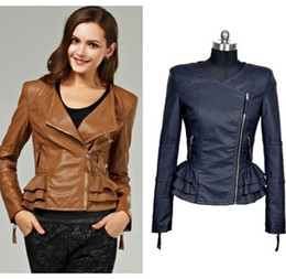 Discount Camel Leather Jacket Women | 2017 Camel Leather Jacket ...