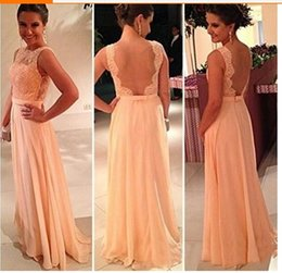 Wholesale Fashion Mother off Bride Dresses New Womens Formal Backless Lace Long Prom Evening wedding Party Dresses bridesmaid dress Factory price