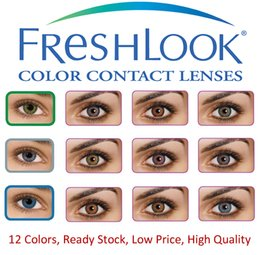 Wholesale Freshlook contact lenses crazy lens tone colored contacts colors for DHL ready stock