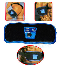Wholesale Dropshipping AB Gymnic Health Care Slimming Body Massage belt Electronic Muscle Arm leg Waist Massager Belt