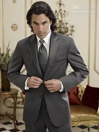 Wholesale New Hot Sale custom made suit groom wear for men wedding suit wool tailor made suit