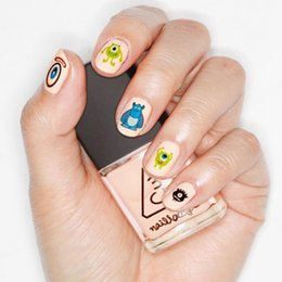 Wholesale HOT D Mixed Design Decal Stickers Nail Art Acrylic Manicure Tips DIY Decoration HOT
