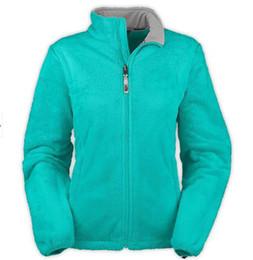 Wholesale New Women Fleece Osito Jackets Fashion Pink Ribbon Jacket Winter Ladies Outerwear Coat S XXL