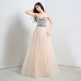 Wholesale 2015 Real Image Sweetheart Heavy Beading Formal Evening Prom Dresses Lace Appliques Celebrity Wedding Party Gowns Arabic Plus Size Hot