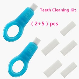 Wholesale DIY Nano Teeth Whitening Brush Tooth Whitening Kit Teeth Cleaning Kit Safe Physical Wipe Off Cigarette Stains Black Dental Plaque