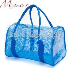 Discount Clear Beach Bags Totes | 2017 White Clear Beach Bags ...