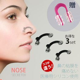 Wholesale 3D Nose Up Set with Clip Bridge Lifting Shaping Shaper Clipper Straightening Face Nose Beauty tool