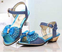 Wholesale Freeshipping Girl s Sandals fashion Sweet Princess Sandals Summer Shoes Luxury Korean Beautiful Sandals with Bowtie