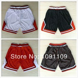 Wholesale Chicago Basketball Shorts Men Cheap Derrick Rose Joakim Noah Michael Jordan Shorts Basketball Shorts