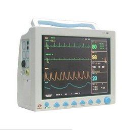Wholesale CMS CMS8000 CE FDA TFT inch Multi Parameter SPO2 ECG Portable EKG Machine Holter Bed Side ICU Patient Monitor