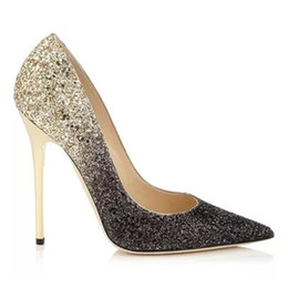 Discount Gold Mid Heel Wedding Shoes | 2017 Gold Mid Heel Wedding ...