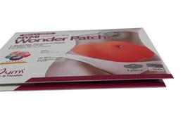 Живот Wing Mymi Wonder Patch Живот Лечение Потеря веса Продукты здоровья Сжигание жира для похудения для тела Талия Тонкий маска