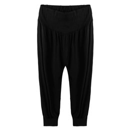 Discount Elastic Waist Capri Pants | 2017 Elastic Waist Capri ...