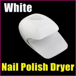 Wholesale White Nail Tools Art Equitment Portable Finger Toe Fast Nail Polish Blower Dryer