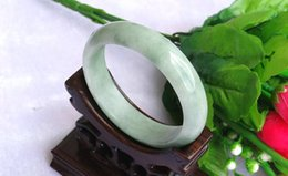 2017 jade green 2015 New- Vintage Chinese Genuine Natural Grade A Green Jade Bracelet Bangle Red agate bracelet 53mm-62mm cheap jade green