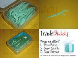 Wholesale 150x New Watsons Mint Round Thread Dental Floss Dental Flosser with Nice Package