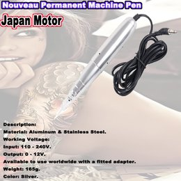Wholesale SALE Nouveau Tattoo Permanent Makeup Pen Machine Rotary Tattoo Machine Japan Motor for eyeliner lips boday tattoo