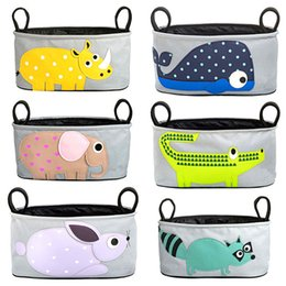 Wholesale Fashionable Diaper Bags Lovely Cartoon Pattern High Quality Polyester Cheap Price Durable Diaper Bags for Baby carriage