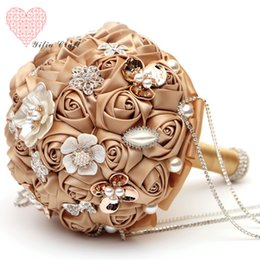 Wholesale 2015 Gorgeous In Stock Cheap Colors Wedding Flowers Bridal Bouquets Bridal Gowns Wedding Bouquet