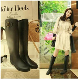 Chunky Heel Rain Boots Online | Chunky Heel Rain Boots for Sale