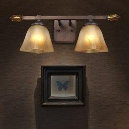 Bathroom Lighting Manufacturers: Luminaire Quadri Moderni European Wholesale Bedroom Wall Lamp  American-style Bathroom Mirror Bedside Aisle Lights,Lighting