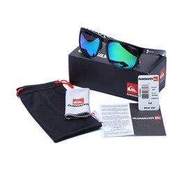 Wholesale New Factory Price Hot Sale Fashion Sunglasses package fancy QUIKSILVER Sports Eyewear case Package LJJD929