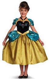 Wholesale Style Pretty Sweet Children s Clothes Long sleeved A type Princess Dress Girls Clothing